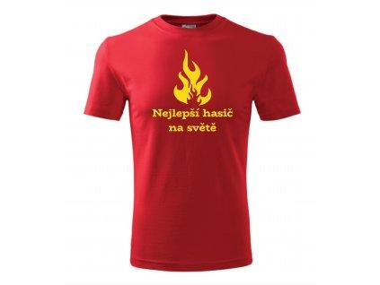 tričko nejlepší hasič