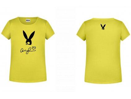 Tričko Ariana Grande rabbit