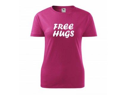 DÁMSKÉ TRIČKO FREE HUGSfree hugs