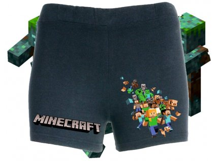 dívčí šortky Minecraft