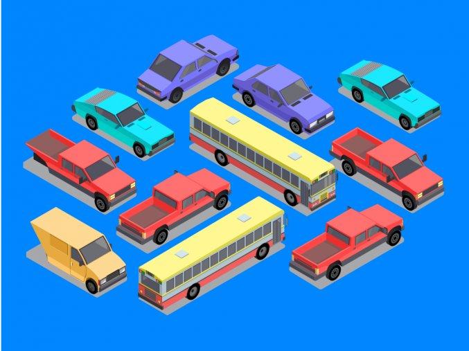 15 databaza vozidiel vo firmach