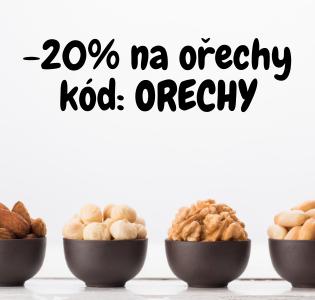 Sleva na ořechy