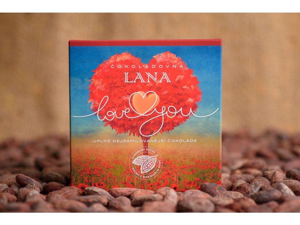 248 mlecna cokolada love you