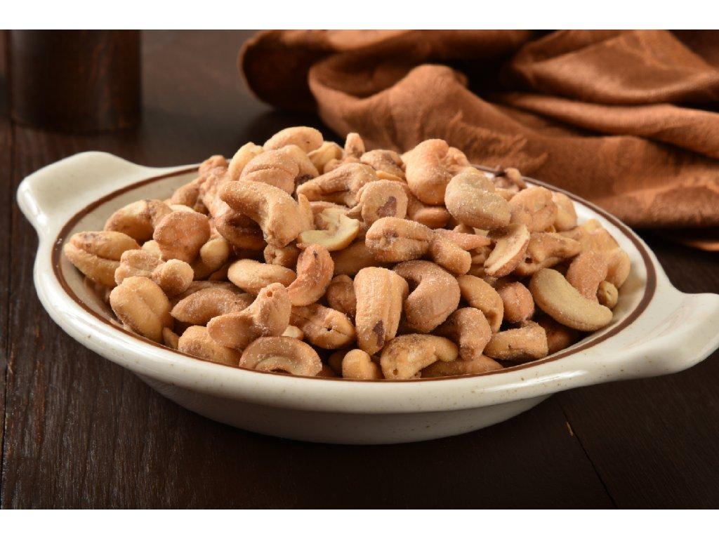 Ořechy - Kešu pražené solené (Gramáž 100g)