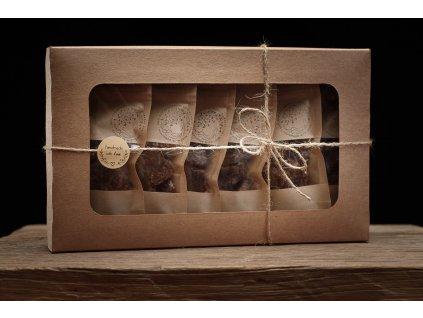 Datlové bonbóny -  Dárkové sady - 6x 50g (Velikost Bílá)