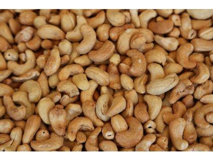 Ořechy - Kešu pražené nesolené (Gramáž 100g)