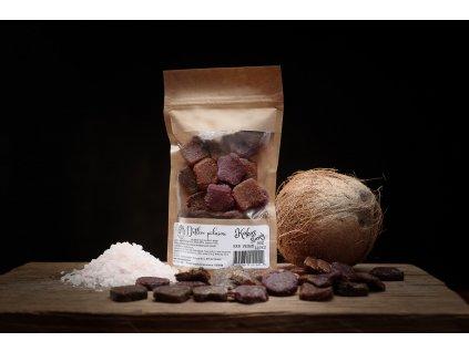 Datlové bonbóny - Slaný kokos (Gramáž 50g)