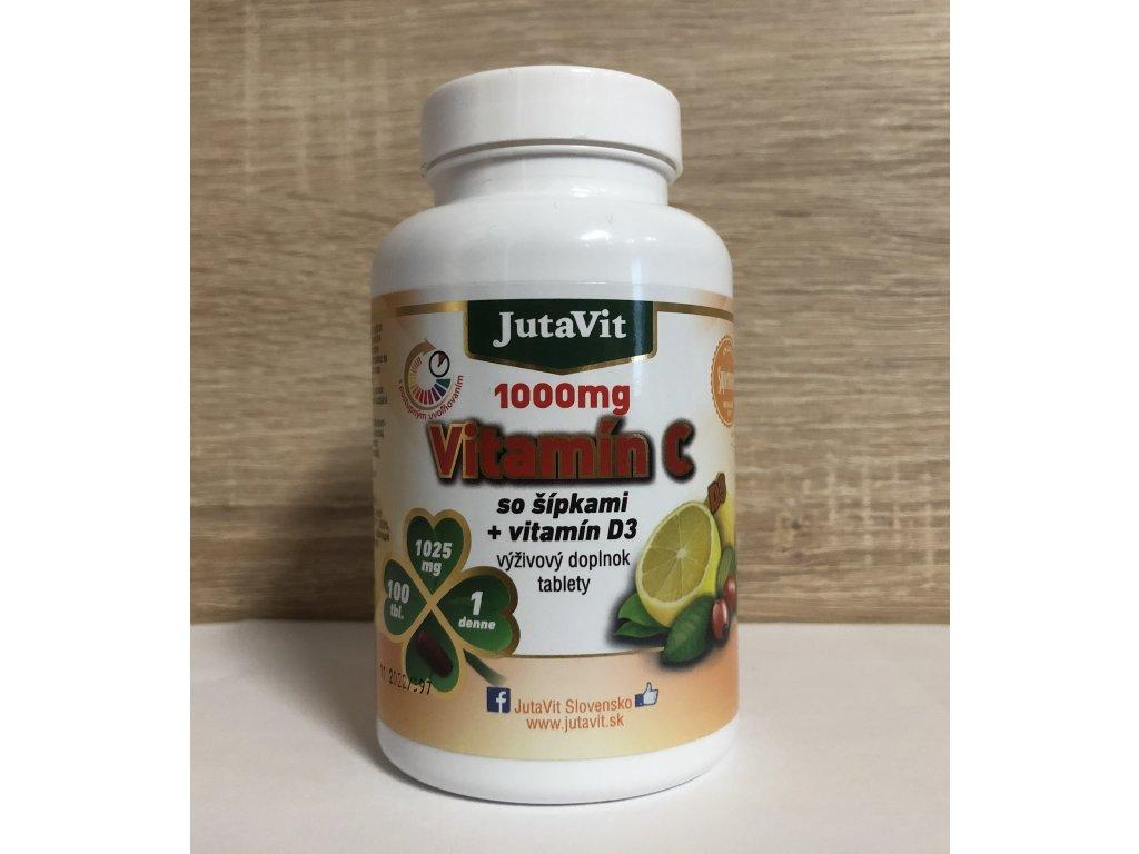 JutaVit Vitamín C 1000mg 100tbl.