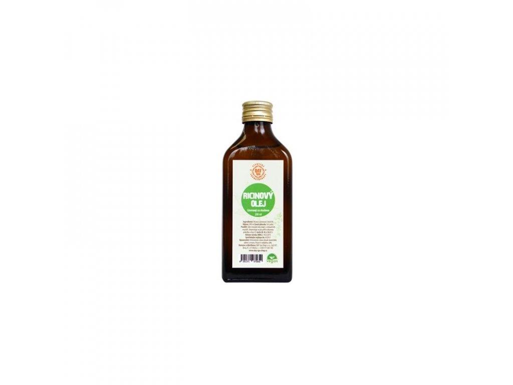 Ricinový olej 100 %, 200 ml