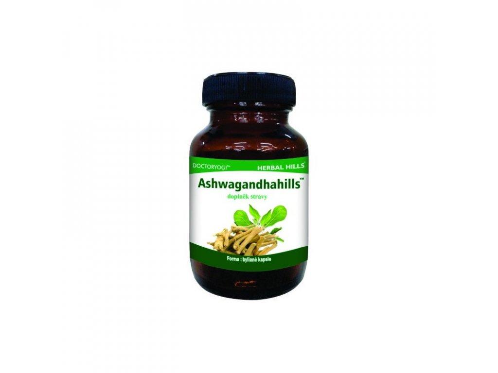 Ashwagandhahills. 60kapslí, vitalita, pohybový aparát