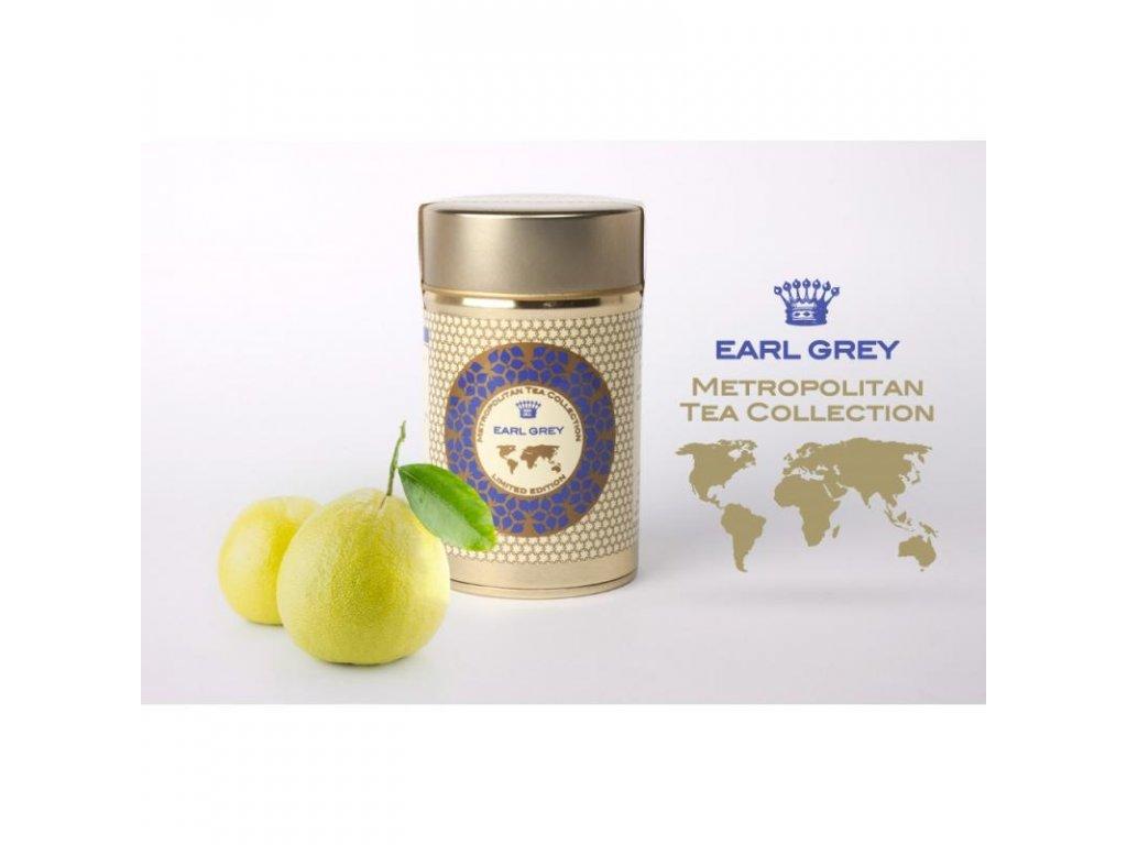 Metropolitan sypaný čaj Earl Grey, 60 g, Sleva 50% EXP 10/20