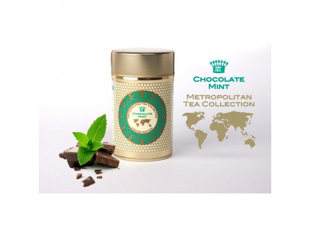 Metropolitan sypaný čaj Čokoláda s mátou, 60 g
