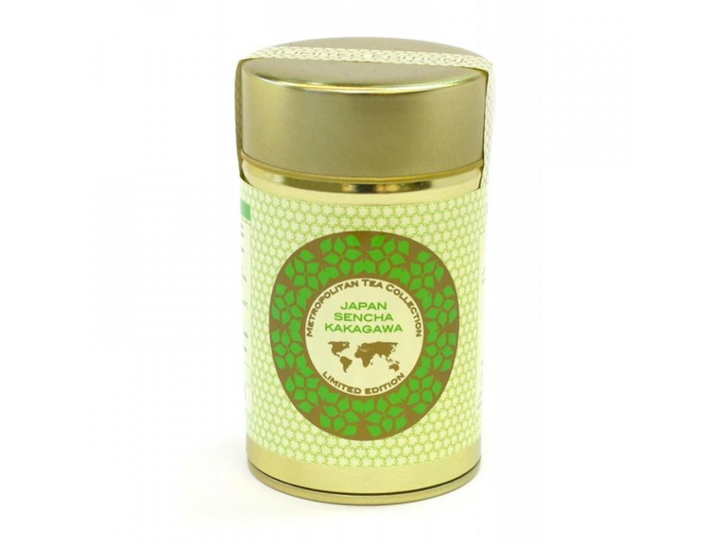 Metropolitan sypaný čaj Japonská Sencha Kakagawa, 60 g, Sleva 30% EXP 10/20