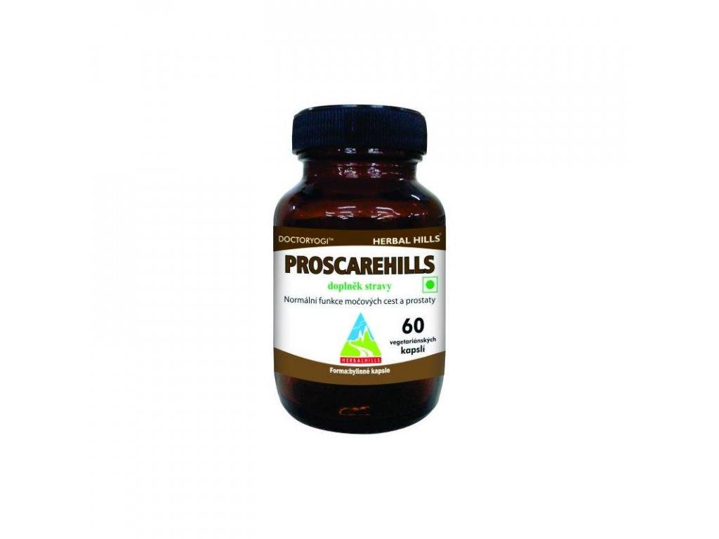 Proscarehills, 60 kapslí, prostata, močové cesty