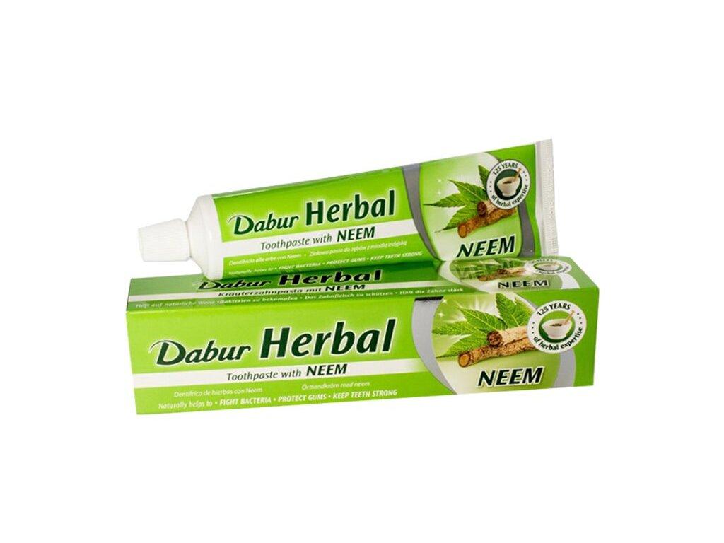 Zubní pasta s neemem Dabur, 100 ml/155 g