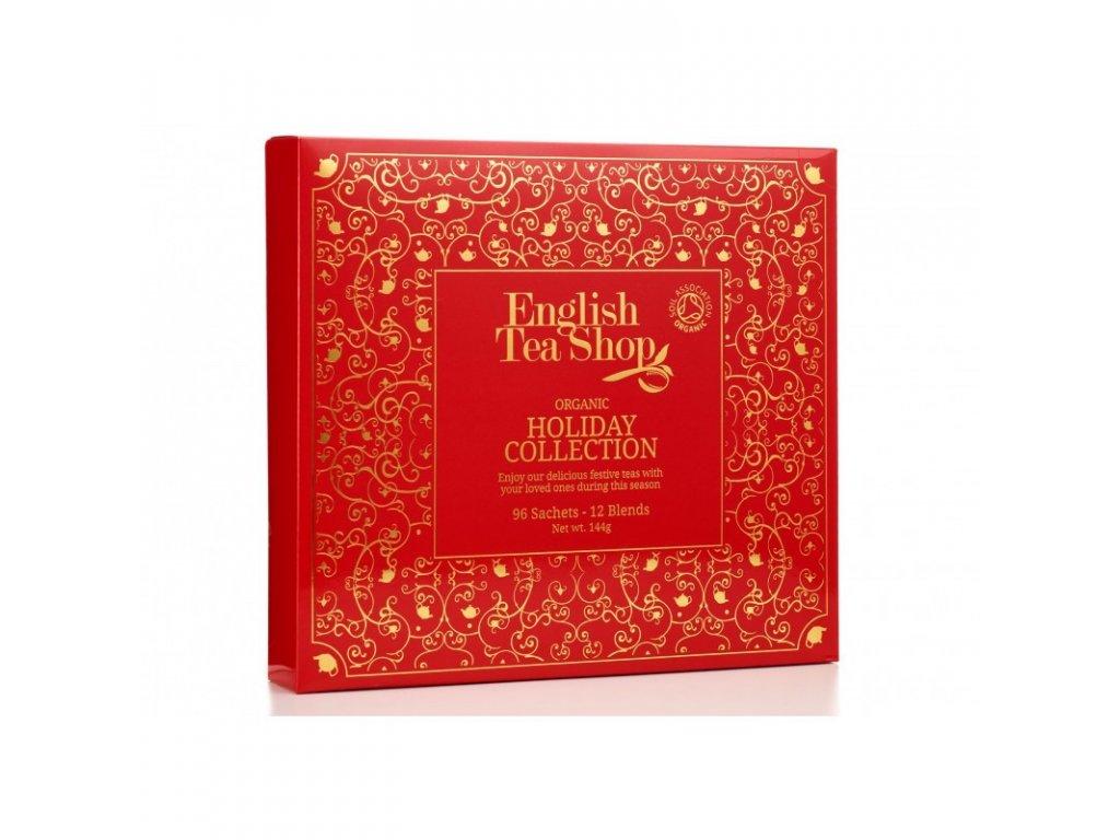 ETS VÁNOČNÍ ČAJ papírová kolekce, Červená kolekce, 96 sáčků