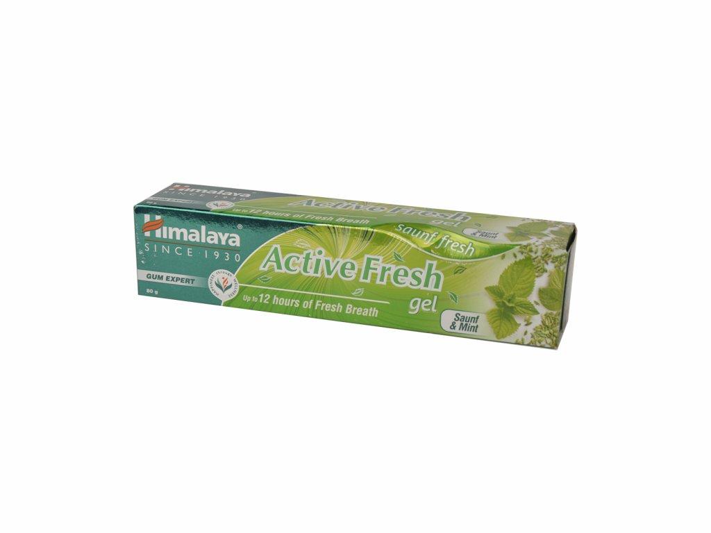 Zubní gel Active Fresh, 80 g, Himalaya