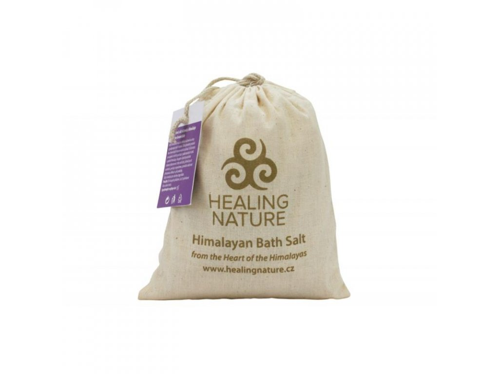 Koupelová sůl s květem levandule, 1 kg
