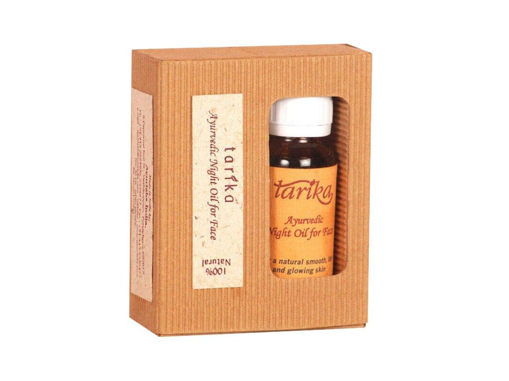 Tarika noční pleťový olej s kadidlem
