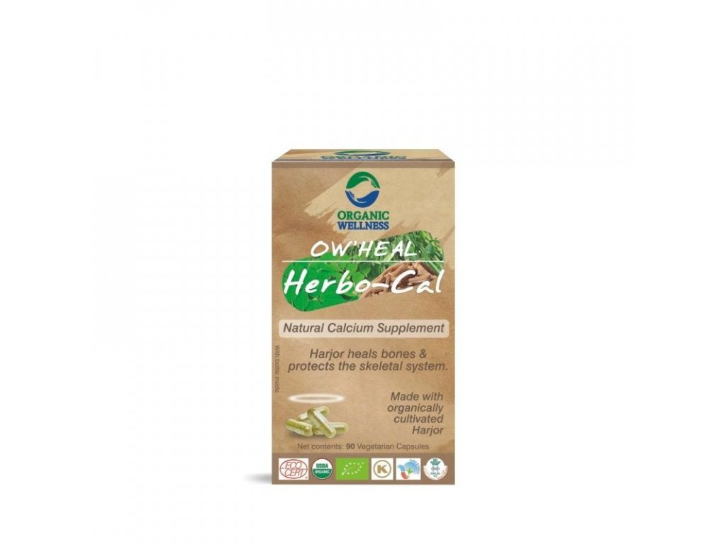 OW HEAL BIO HERBO-CAL, 90 kapslí, EXP 9/20 sleva 50%