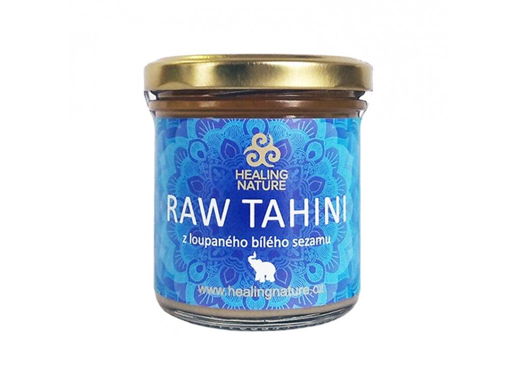 RAW Tahini z loupaného bílého sezamu, 165 ml, Healing Nature