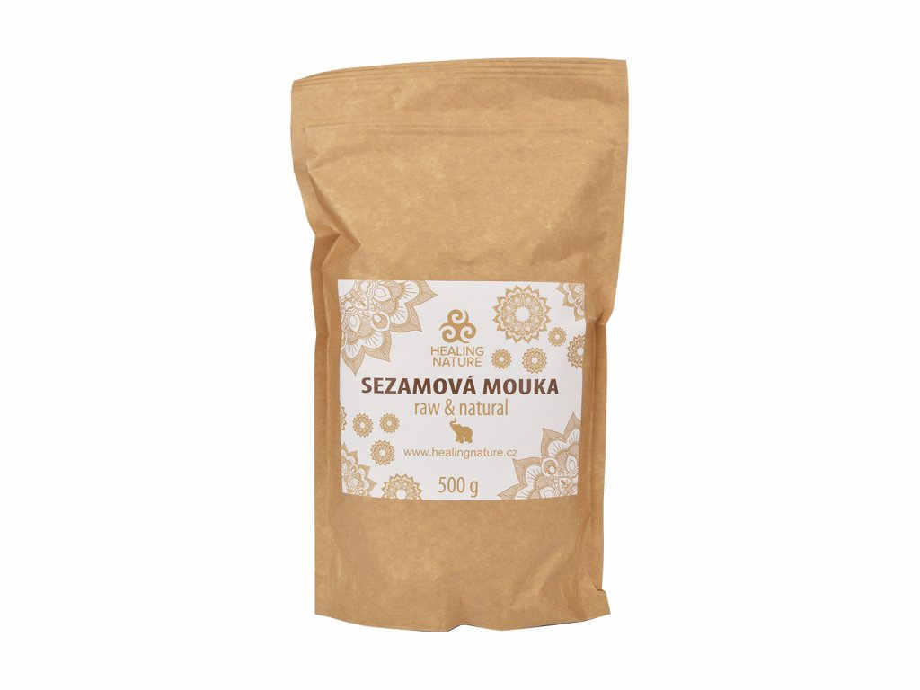 RAW Sezamová mouka, 500 g, Healing Nature