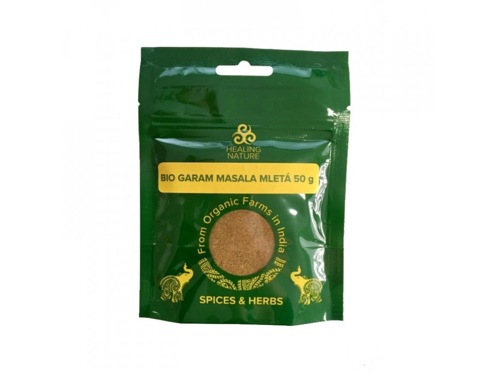 BIO Garam Masala, 50 g, Healing Nature
