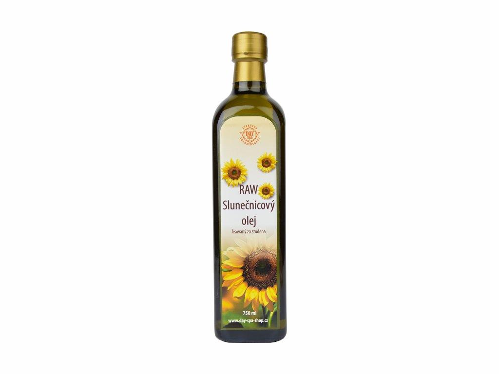 DS Slunečnicový olej RAW, 750 ml