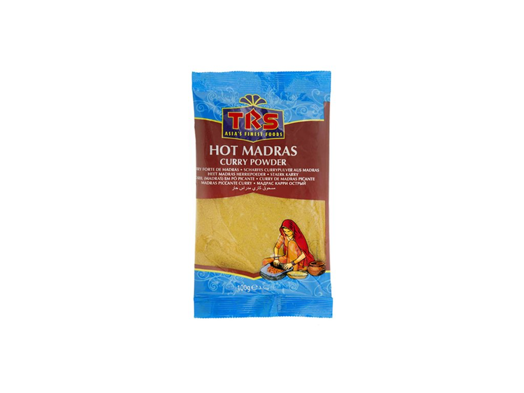 1648 2002238 TRS Hot Madras Curry Pulver 100 Gramm