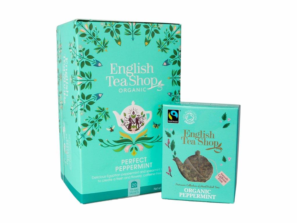 BIO Mátový čaj, 1 / 20 sáčků, English Tea Shop