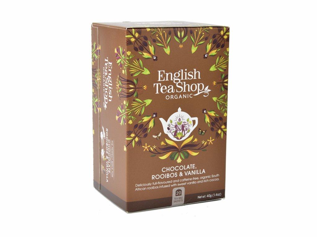 ETS Rooibos, čokoláda a vanilka, 20 sáčků