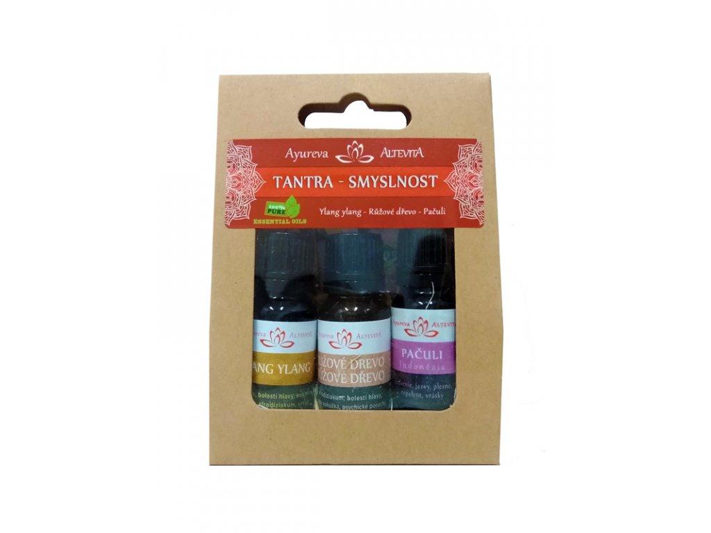 Set esenciálních olejů Tantra a Smyslnost