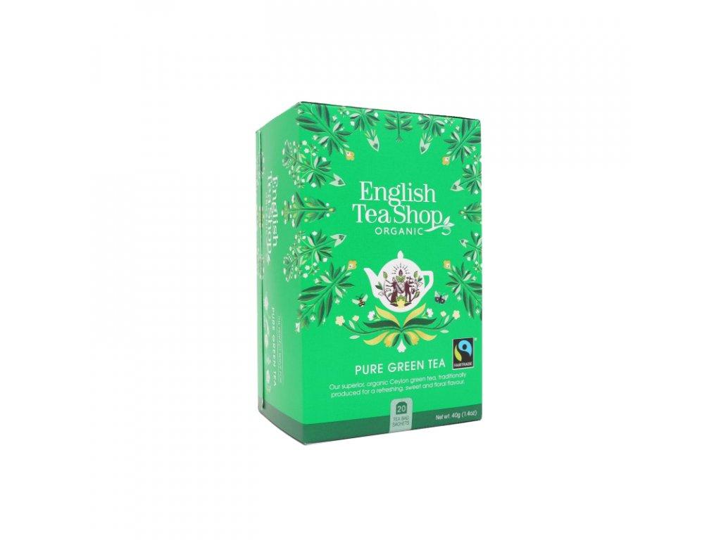 ETS čaj Zelený čaj, 20ks