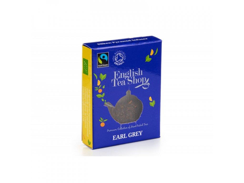 bio fairtrade cerny caj earl grey hedvabna pyramidka