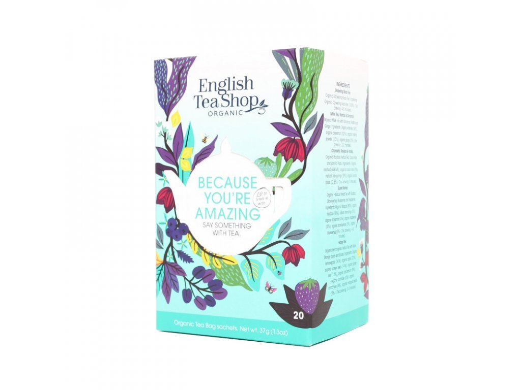 1333 2 english tea shop mix caju because you re amazing 40g 20 ks bio ets20