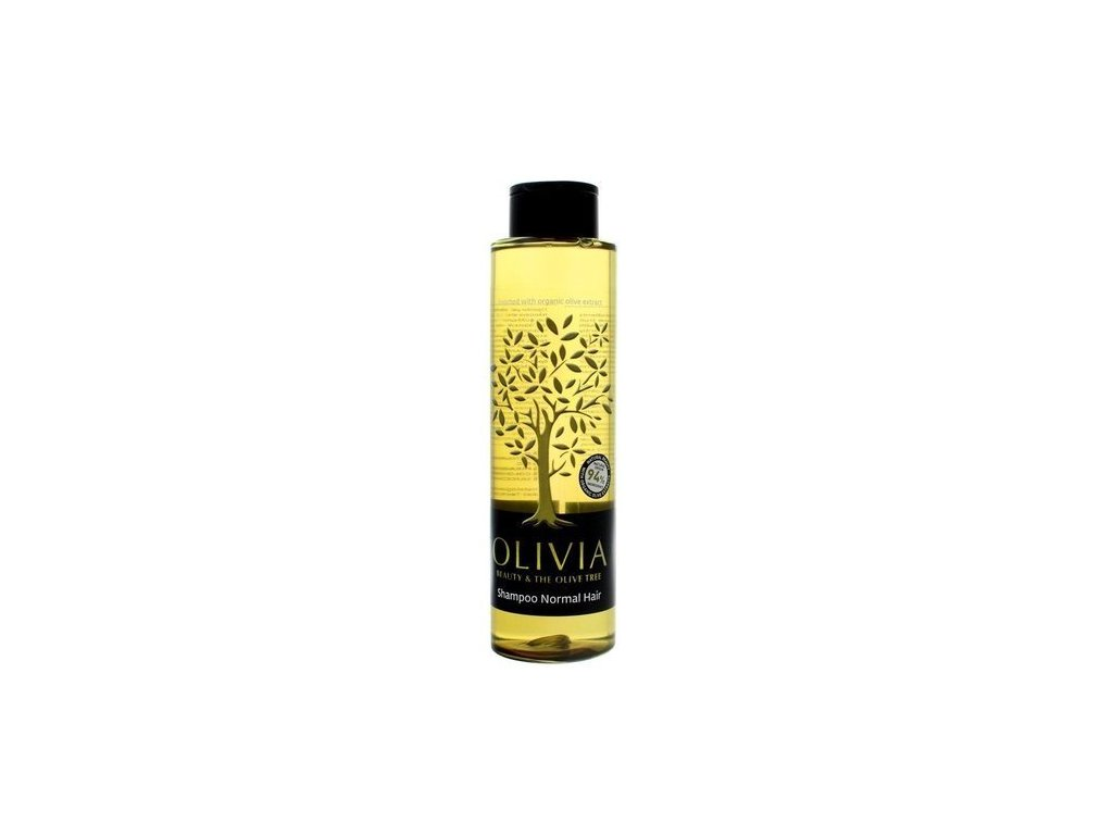 eng pl Olivia Beauty The Olive Tree Shampoo for Normal Hair Vegan 300ml 5201109000686 31372 1