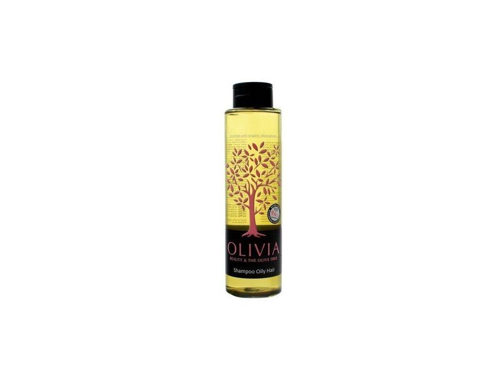 eng pl Olivia Beauty The Olive Tree Shampoo for Greasy Hair Vegan 300ml 5201109000655 31373 2