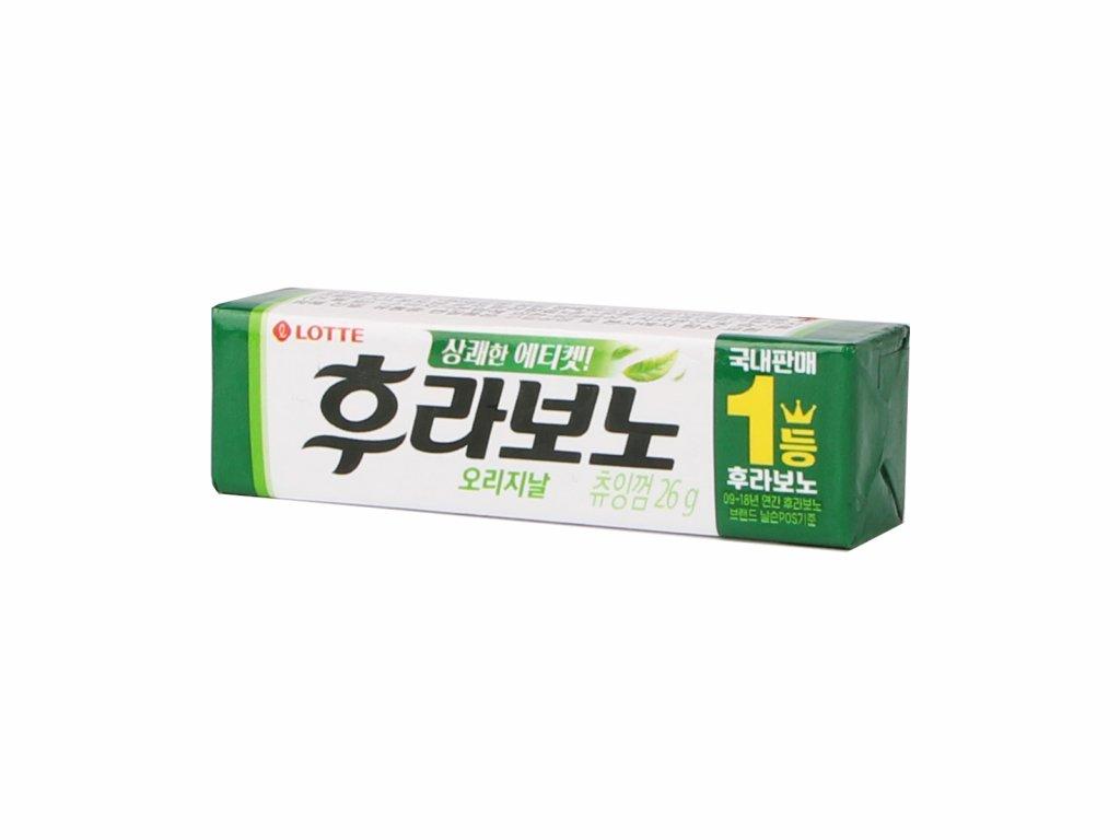 žvýkačky zelený čaj