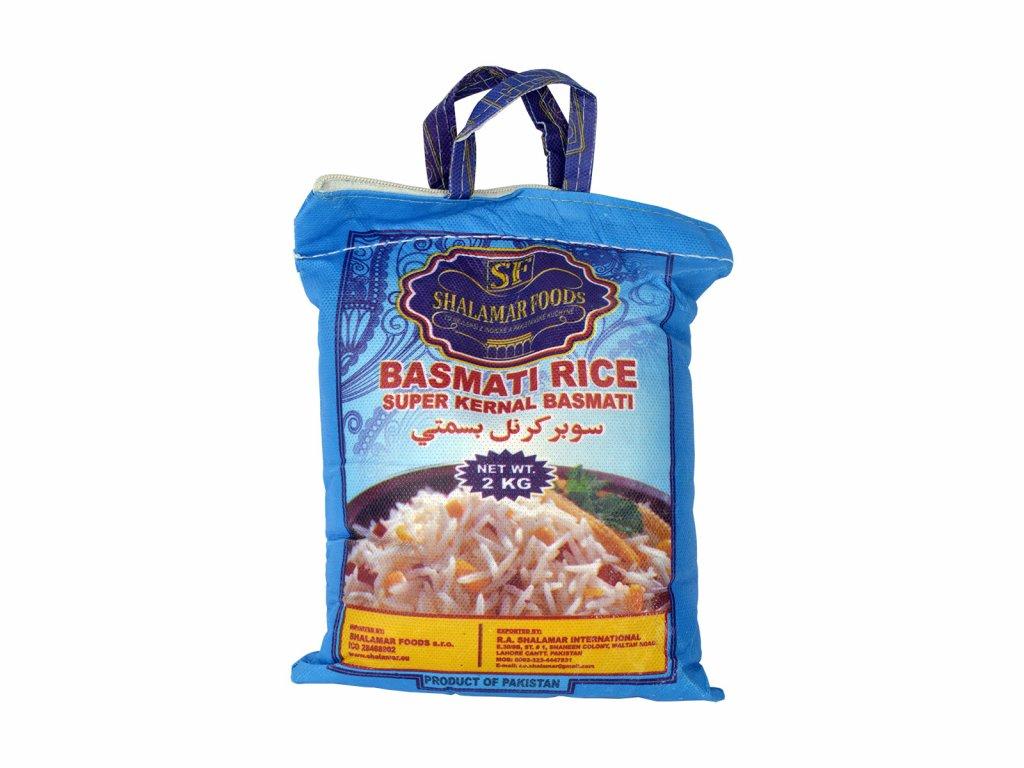 Shalamar Foods Rýže Basmati, 2kg