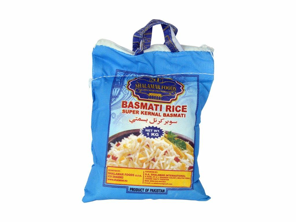 Shalamar Foods Rýže Basmati, 1kg