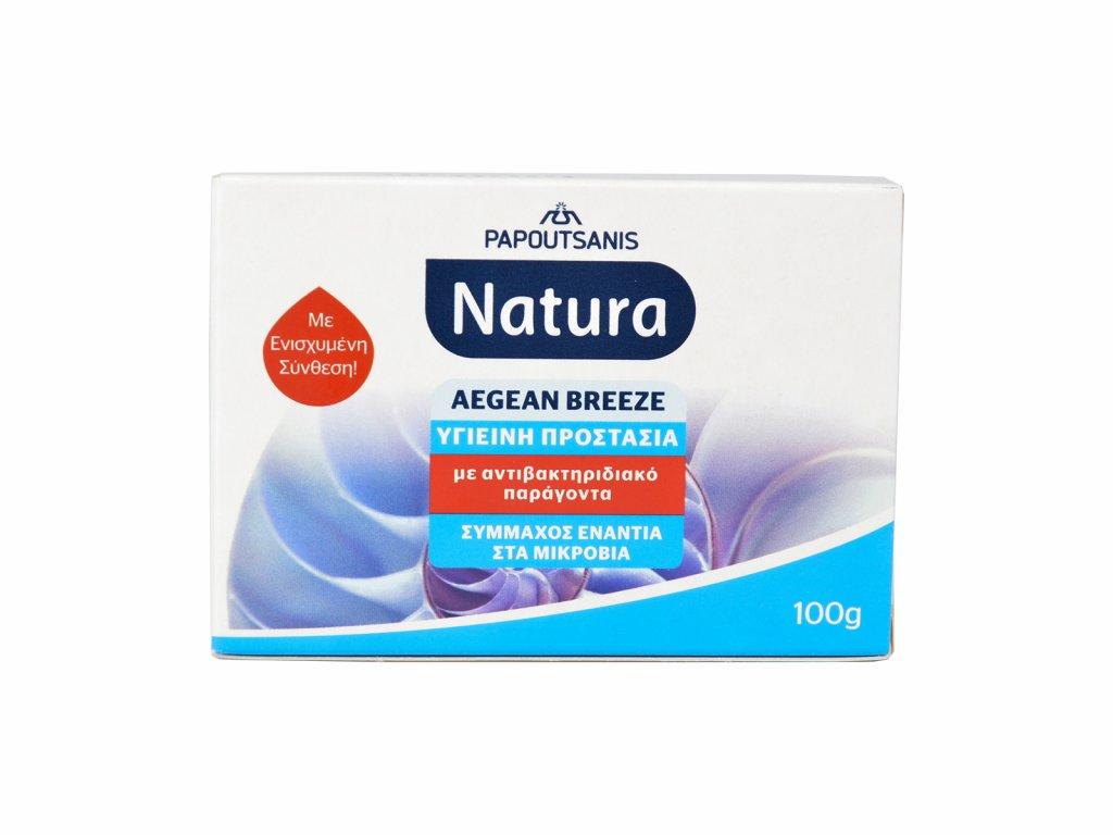 NATURA Antibakteriální Mýdlo Egejský vánek, 100g