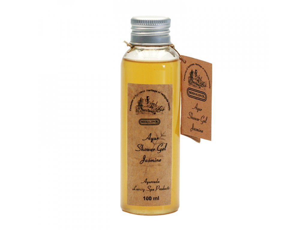 Ayur sprchový gel Jasmine, 100 ml, Siddhalepa
