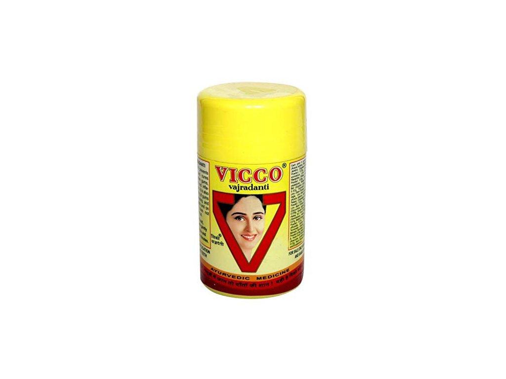 Vajradanti zubní prášek Vicco, 25 g, Vicco laboratories