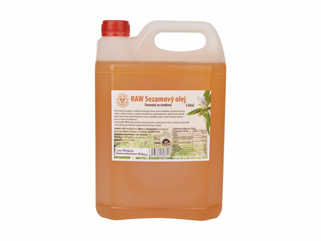 DS Sezamový olej 5l
