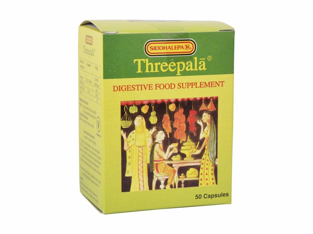 Siddhalepa Threepala, 50 kapslí