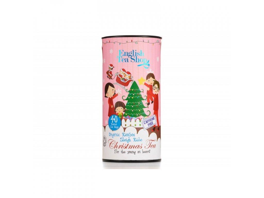 ETS Dětský vánoční čaj - Jízda na saních, 40 sáčků