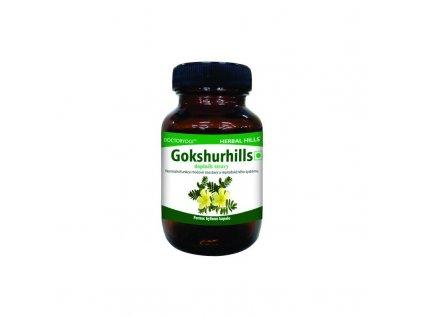 Gokshurhills, 60 kapslí, afrodisiakum, cholesterol, cukr