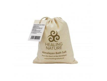 Himalájská koupelová sůl, bílá jemná, 1 kg,Healing Nature