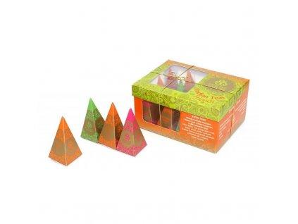 HN Indian Teas Friends, 12 pyramidek