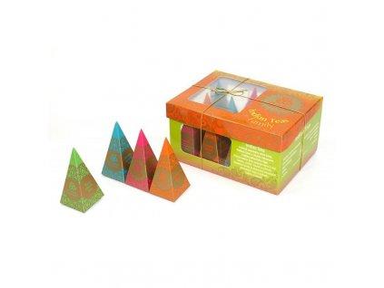 HN Indian Teas Family, 12 pyramidek